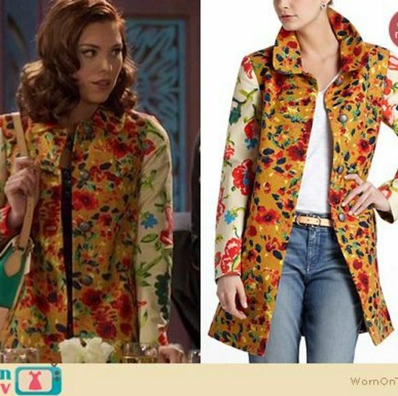 eef78d3b4c06ea Anthropologie Jackets & Coats | Rare Elevenses Leopard Lily Coat ...